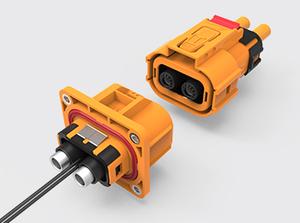两芯塑胶高压连接器(16-25方)