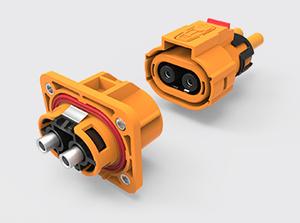 两芯塑胶高压连接器(6-10方)