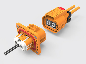 两芯塑胶高压连接器(4-6方)