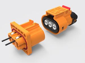 三芯塑胶高压连接器(2.5-4方)