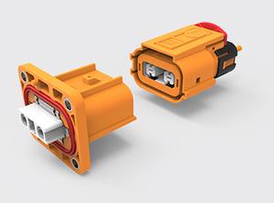 两芯塑胶高压连接器(2.5方)