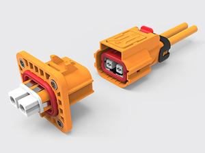 两芯塑胶高连接器(2.5-4方)