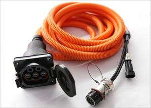 交流電慢充插座線束組件