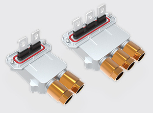 两芯/三芯锁螺式高压接线盒