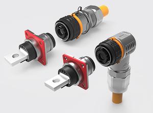 单芯推拉式直头/弯头金属高压连接器(50方)