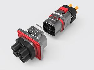 四芯金属高压连接器(2.5-6方)
