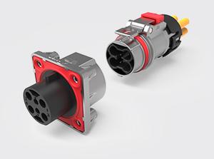 四芯金属高压连接器(1-2.5方)