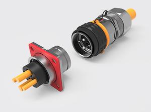 2+2推拉式金属高压连接器(1.5-4方)