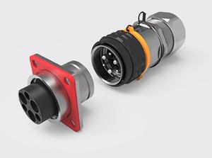 3+3推拉式金属高压连接器(1.5-4方)
