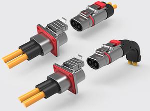 两芯金属高压连接器(2.5-10方)